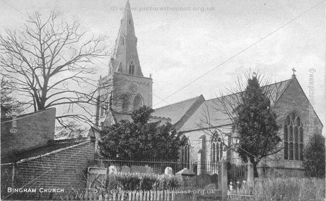 St. Mary and All Saints' Parish Church, Bingham, Early 20th Century