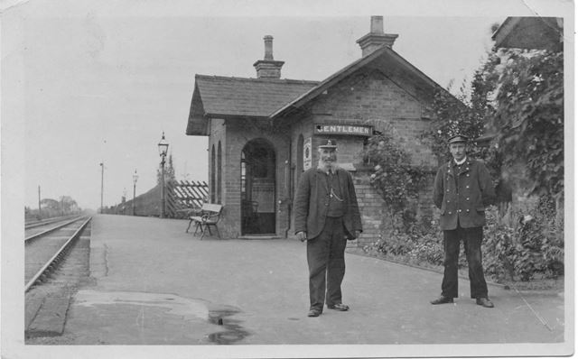 Railway Station, Bleasby