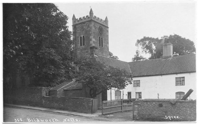 St. Mary's Church, Blidworth, undated