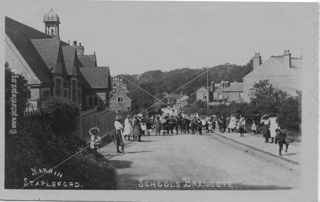 Town Street and School, Bramcote