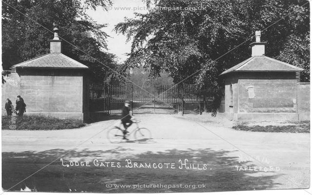 Lodge Gates, Bramcote Hills, Bramcote