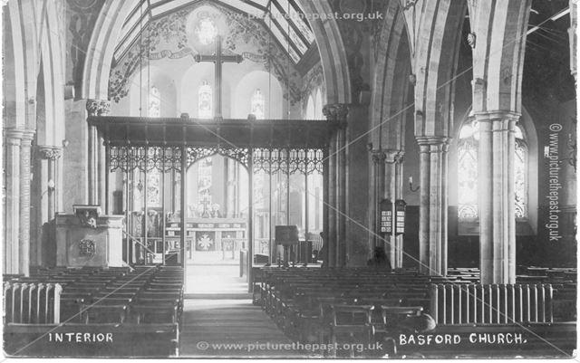 Interior, Basford Church
