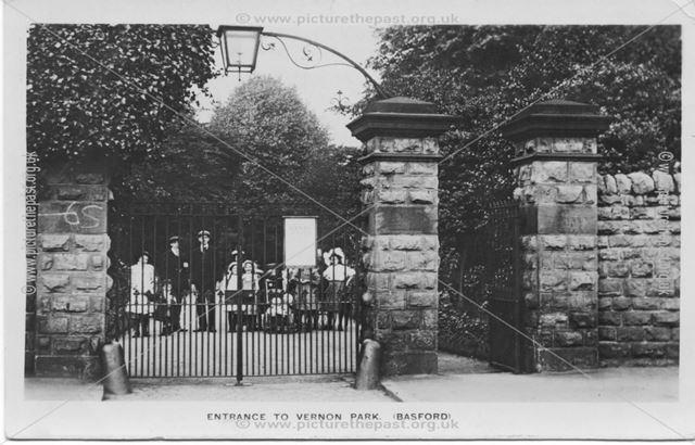 Entrance To Vernon Park (Basford)