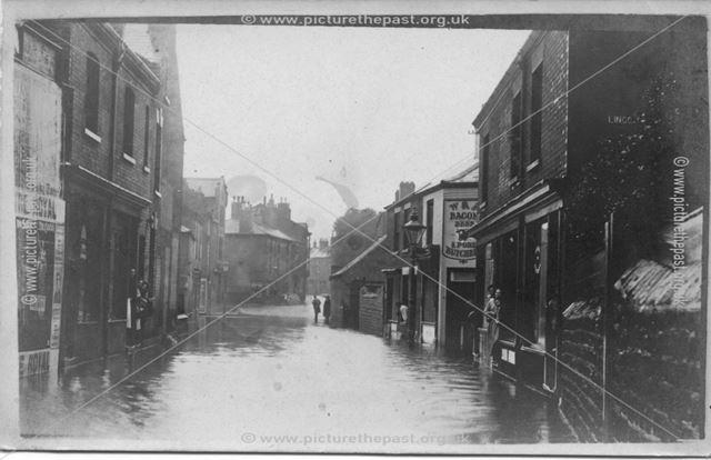 Lincoln Street, Old Basford, Nottingham, 1947