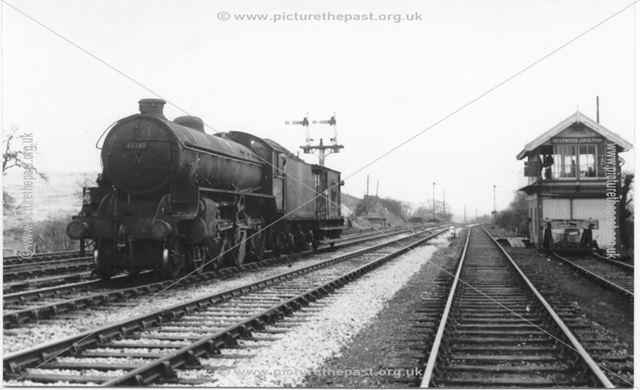 Steam train at Bestwood Junction