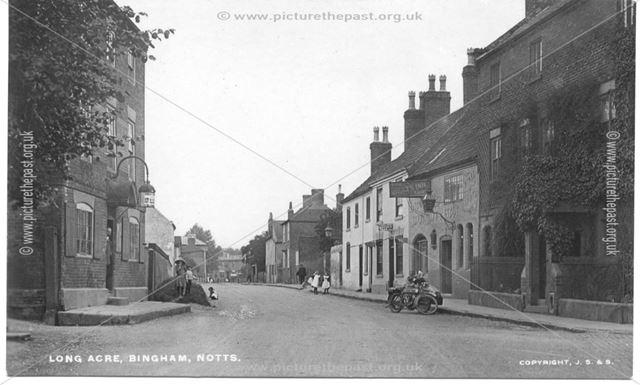Long Acre inc. Wheatsheaf and Vaults Inn Public Houses, Bingham, Notts