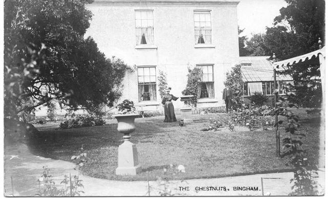 The Chestnuts (aka. Long Acre House and Providence House), Bingham, c1900s