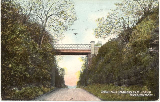Red Hill Arch, Mansfield Road, Nottingham