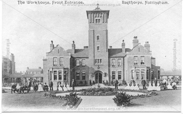 The Workhouse Front Entrance, Bagthorpe, Nottingham