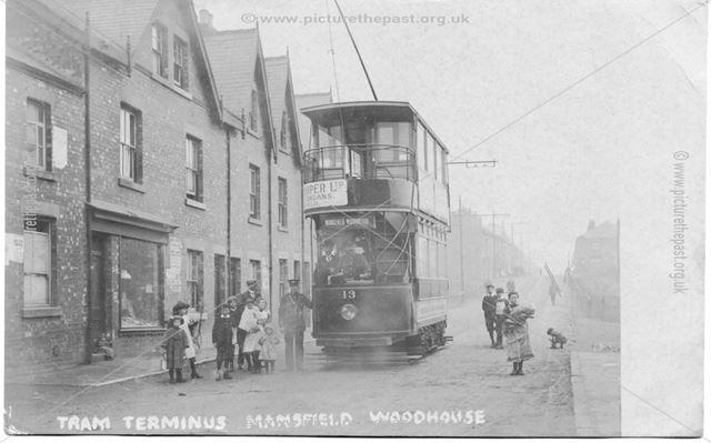 Tram Terminus, Mansfield Woodhouse