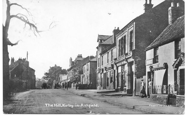 The Hill, Kirkby in Ashfield, c 1900s
