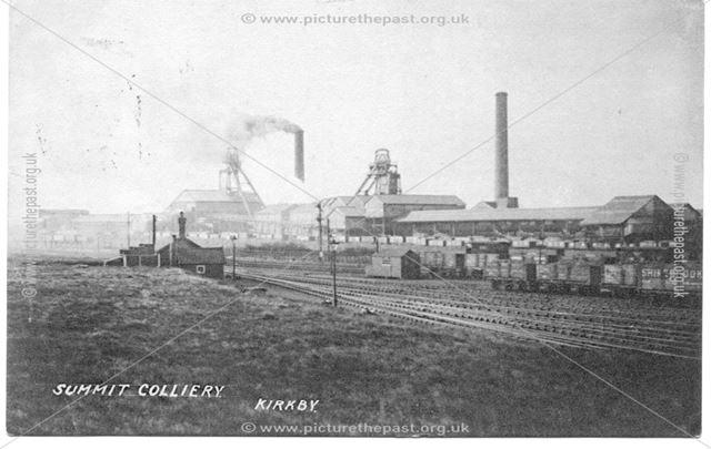 Summit Colliery Kirkby