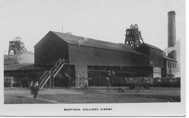 Bentinck Colliery Kirkby