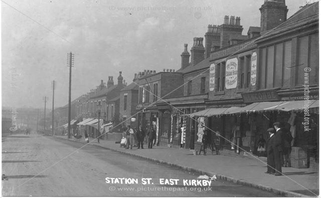 Station Street East Kirkby