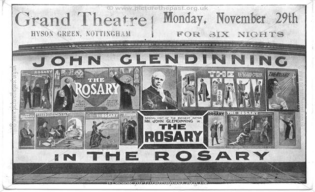 Grand Theatre, Radford Road, Hyson Green, Nottingham, c 1911