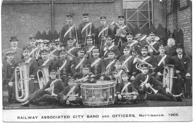 Railway Associated City Band and Officers, Nottingham.