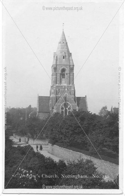 St Andrews Church Nottingham