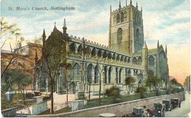 St Mary's Church Nottingham