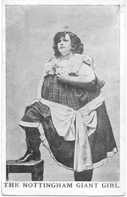 The Nottingham giant girl.