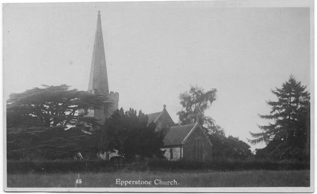 Epperstone church