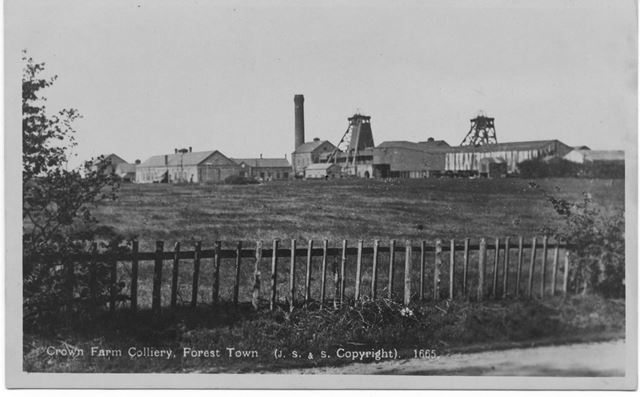 Crown Farm Colliery, Forest Town