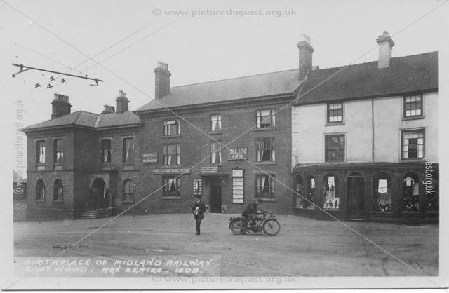 Sun Inn, Derby Road, Eastwood, 1920s ?