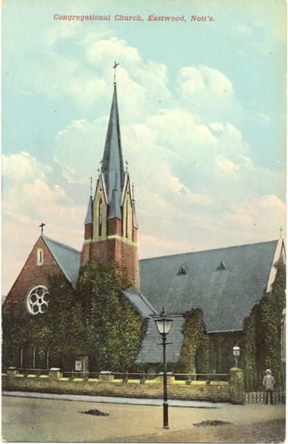 Congregational Church, Nottingham Road, Eastwood