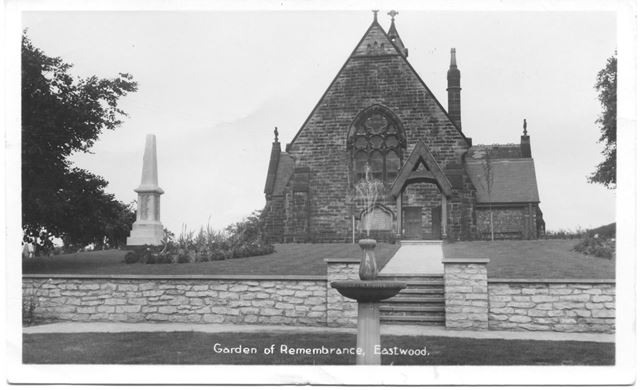 Garden of Remembrance, Eastwood
