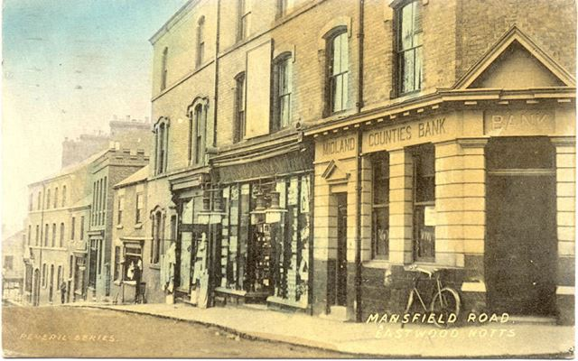 Mansfield Road, Eastwood, Notts.