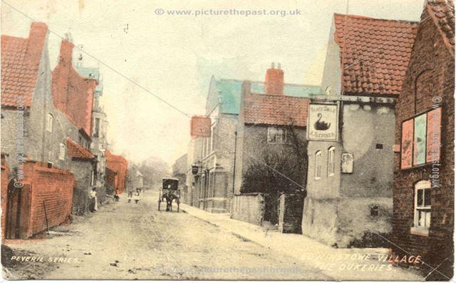 Edwinstowe village, the Dukeries