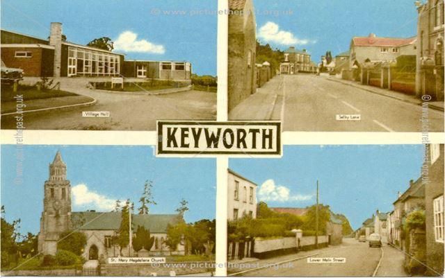 Keyworth postcard