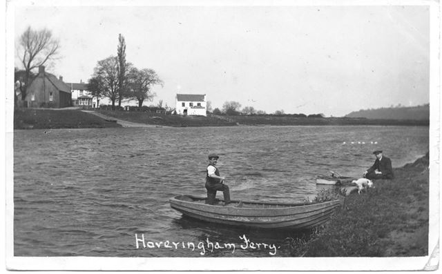 Hoveringham Ferry