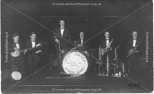 Bert Rhodes Dance Band, Carlingford Road, Hucknall
