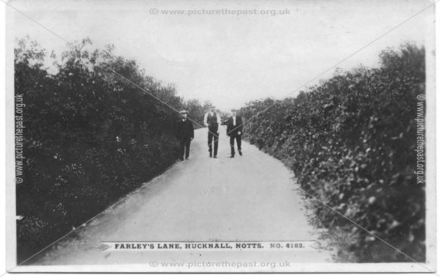 Farley's Lane, Hucknall