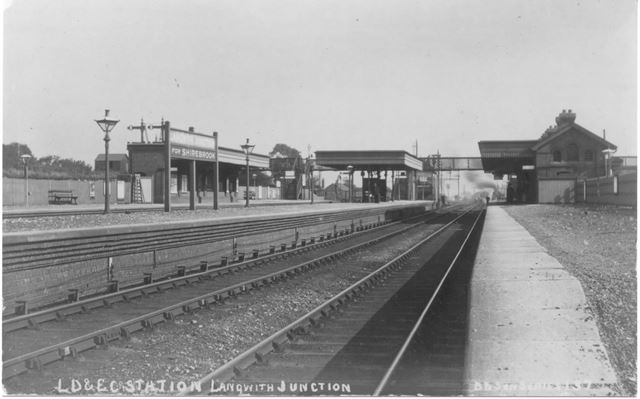 L.D. E. Co station Langwith Junction
