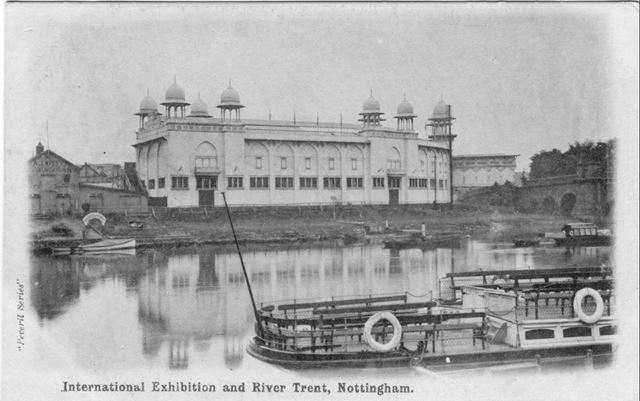 International Exhibition and Steamers, Nottingham