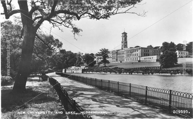 New University and Lake, Nottingham