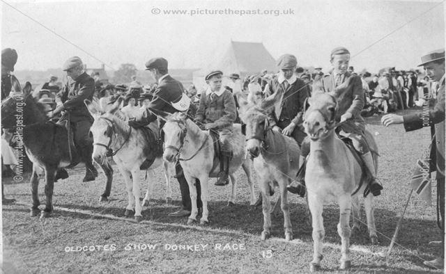 Oldcotes Show Donkey Race