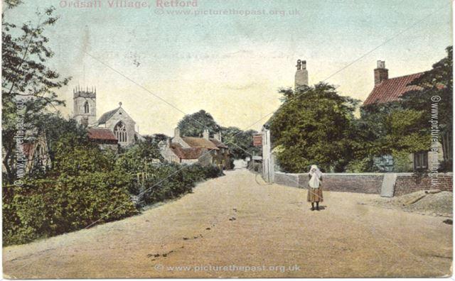 Ordsall village, Retford