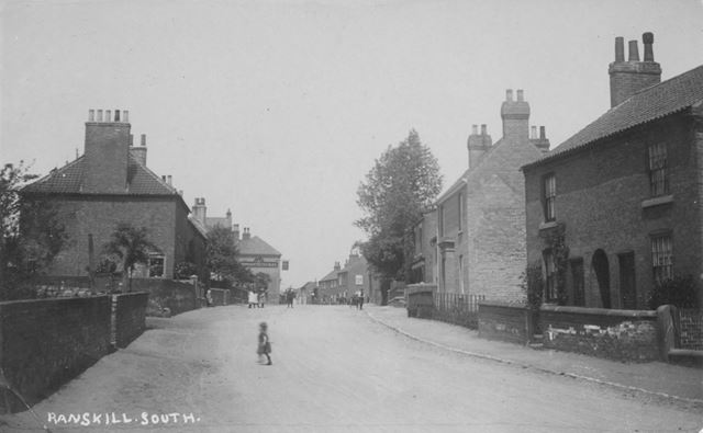 Great North Road, Ranskill, c 1900s