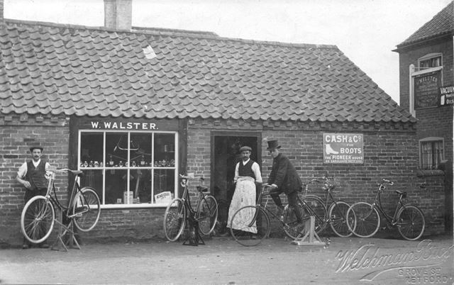W. Walster's shop, Barnby Moor?