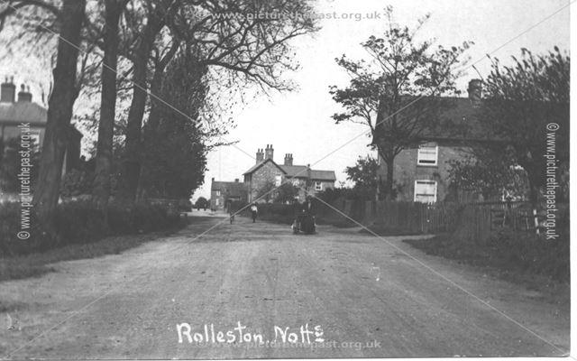 Staythorpe Road, Rolleston, c 1900s