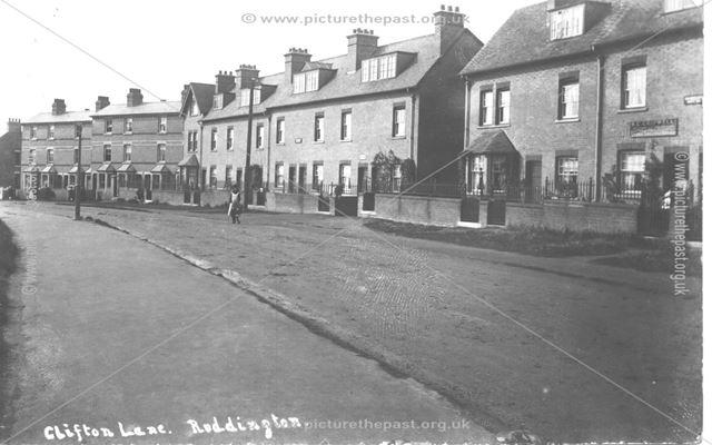 Clifton Lane, Ruddington, c 1900s