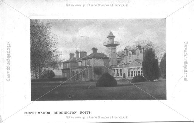 South Manor, Manor Park, Ruddington., c 1910s ?