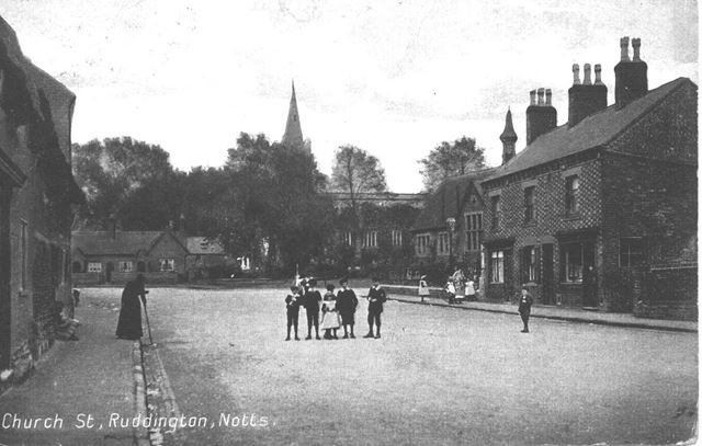 Church Street, Ruddington, c 1900s