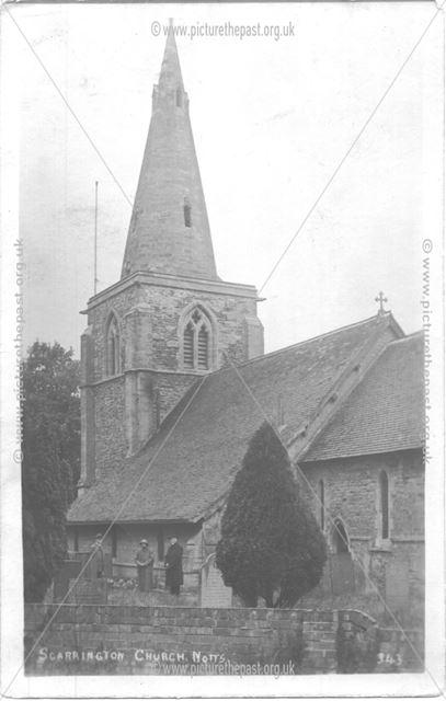 St. John's Church, Main Street, Scarrington, c 1920s?