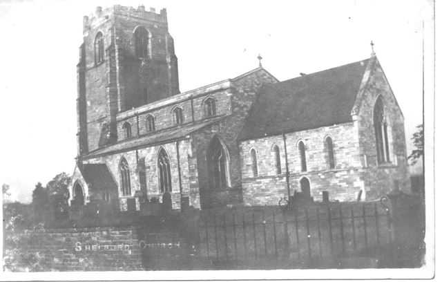 St. Peter's Church, Church Street, Shelford, c 1910s