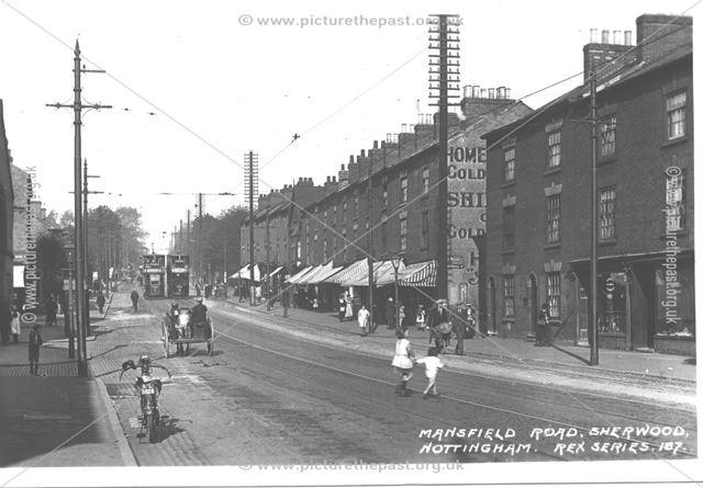 Mansfield Road, Sherwood, Nottingham, c 1930