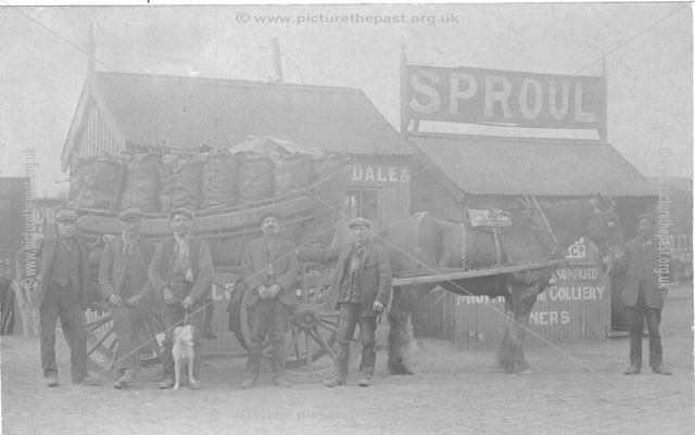 Sproul, coal merchant?, Sneinton, Nottingham, c 1900