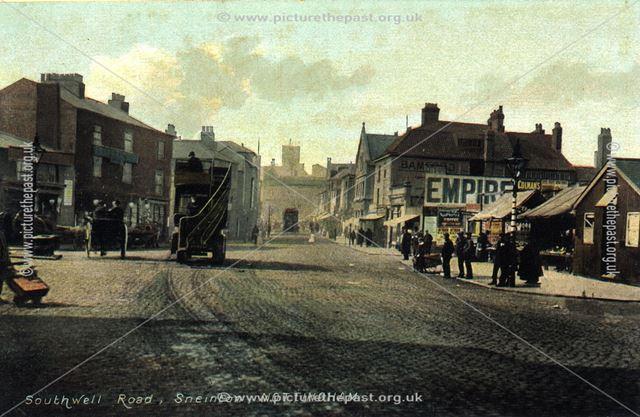 Southwell Road, Sneinton, Nottingham, c 1900